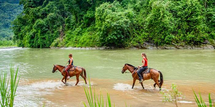 Horseback riding tour to La Fortuna Waterfall 4
