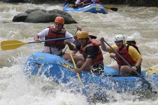 La Fortuna River Rafting Arenal Volcano Costa Rica